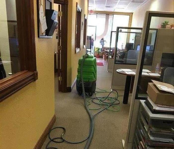 Cleaning Carpets In State Farm Insurance Office