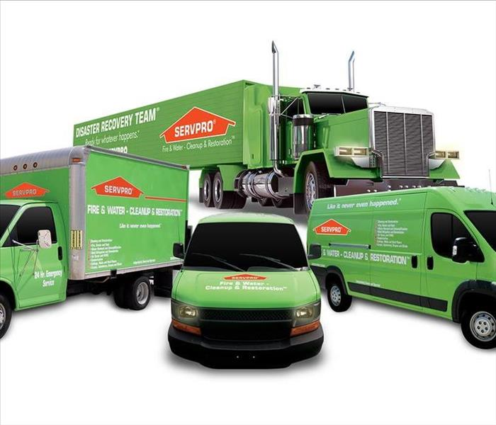 SERVPRO vehicle fleet